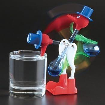 Forum Novelties 3 PCS The Famous Lucky Drinking Bird  Magic Drinking Bird