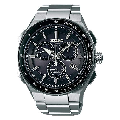 Seiko Reloj Cronógrafo para Hombres de con Correa en Titanio SSE129J1