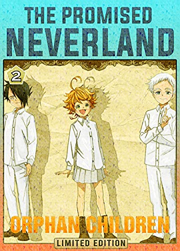 Orphan Children: Book 2 New 2021 Adventure Media Tie-In manga Comic For Kids Great The Promised Neverland (English Edition)