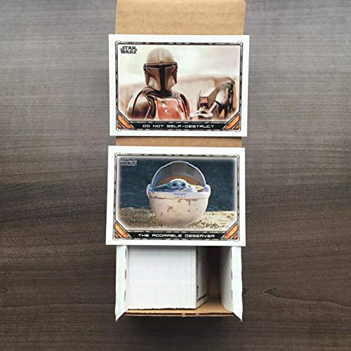 2020 Topps Star Wars Disney Plus Exclusive Show The Mandalorian Season 1 Complete Base Set of 100 Cards HAND COLLATED DIRECTLY FROM FACTORY SEALED BOXES. ALL CARDS IN NEAR MINT TO MINT CONDITION