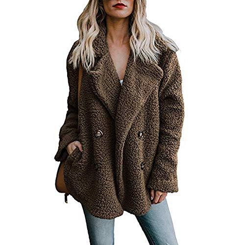 Wtouhe Jacke Damen wasserdicht Plus Size Sweatjacke mit Teddyfutter Warm Weihnachtsjacke weiß softshelljacke fleecejacke weste übergangsjacke jacken