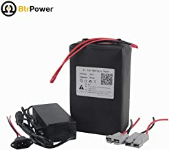 36V 20Ah Ebike Battery Lithium Li-ion Battery Pack for 1000W Electric Bicycle Scooter with 5A Charger BMS
