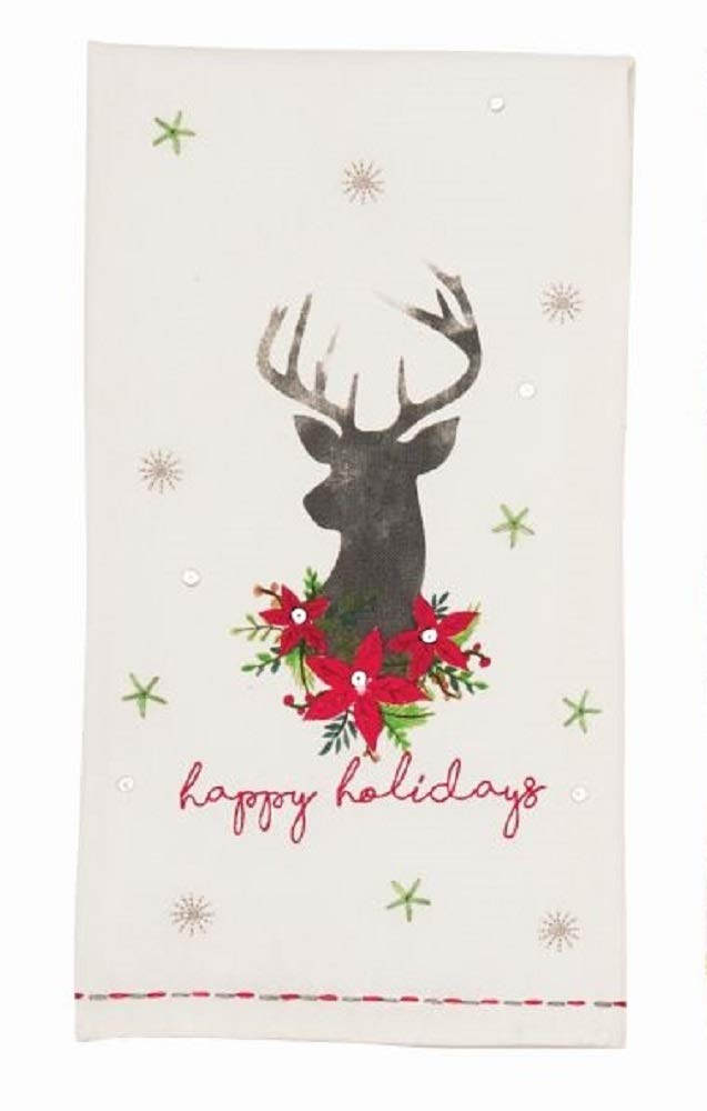 excellence Deer Complete Free Shipping Bust Towel Embellished