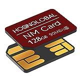 Foto YAOMAISI Scheda NM 128GB 90MB/S Nano Card Compatibile Solo con Huawei P30/P30pro/P40/Serie Mate20/Serie Mate30/Mate40/Mate40pro Nano 128 GB (Rosso)