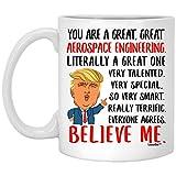 Grande idea regalo per idee di compleanno, divertente tazza da colleghi, regalo di Natale per uomo e donna, tazza da caffè bianca 311,8 g