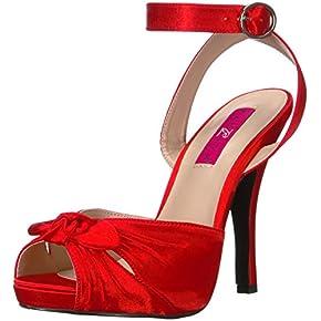 Pleaser Pink Label Women's Eve01/Rsa Platform Dress Sandal