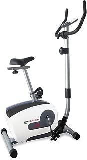Nishore Cyclette da Spinning Ellittica con Sensori a Impulso Nera e Rossa 97 x 46 x 108 cm