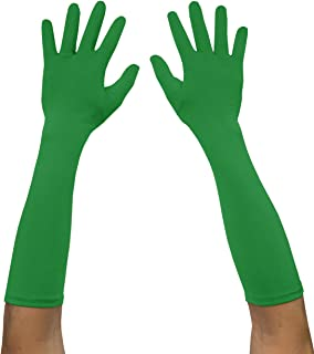 Adult Spandex Elbow Length Costume Gloves