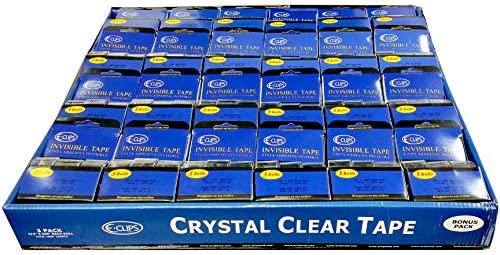 Crystal Clear Stationery Tape 3 Case Each lowest price 4