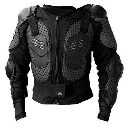Protektorenjacke S Brustpanzer Rückenprotektor (Größe S) Schutzausrüstung für Fahrrad Bike Quad Motocross Motorrad Motorsport - Protektor Protektoren Jacke Motorradjacke