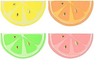 16pcs Gilding Fruit Lemon Disposable Paper Napkins for Cock Party Tableware Home Bar BBQ Serveware (Assorted 4 Color) Birt...