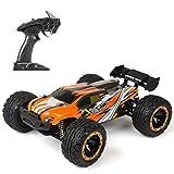 Coche de control remoto, 2.4G 4WD 45KM/H RC Car 1:16 Radio Control remoto eléctrico Drift Car Control remoto Buggy Offroad juguete regalo para niños y adultos (naranja)