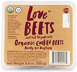 Love Beets Organic Cooked Beets, 8.8 oz