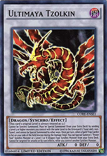 YU-GI-OH! - Ultimaya Tzolkin (CORE-ENSE1) - Clash of Rebellions: Special Edition - Limited Edition - Super Rare