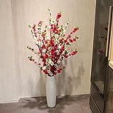 Ha @ Gao,, artificiales capitules cabezales de flores decoración para bodas fiesta casa, embalaje incluye: Contiene Una bouteille-18.5cm