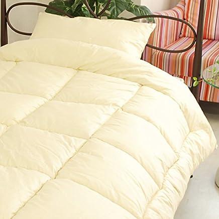 エムール 洗える 2枚合わせ 掛け布団 ダクロン(R)クォロフィル(R)アクア使用 シングル 日本製