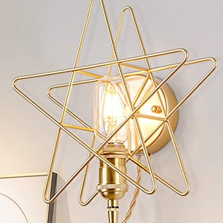 Genuss Kreative Sterne Design Metall Wandleuchte Einfache Moderne Wohnzimmer Schlafzimmer Esszimmer Dekoration Lampen Luxus