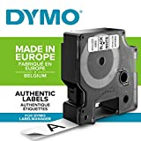 Dymo D1 Etichette Autoadesive per Stampanti LabelManager, Rotolo da 19 mm x 7 m, Stampa Ne...