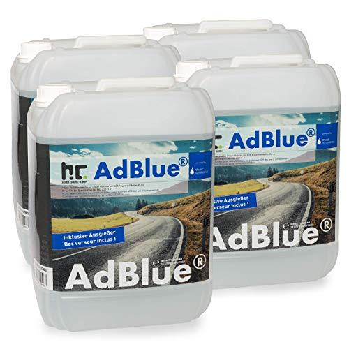 4 x 10 L AdBlue® - hochreine Harnstofflösung - VERSANDKOSTENFREI - ISO 22241-1 / DIN 70070 / AUS32