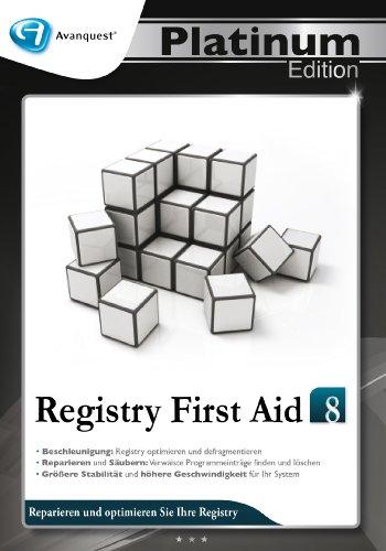 Registry First Aid 8-Avanquest Platinum Edition (Erweiterung notwendig)