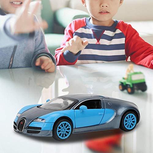 Modelo de Coche Color Brillante Durable para Bugatti Vega Pull Back Toy Car