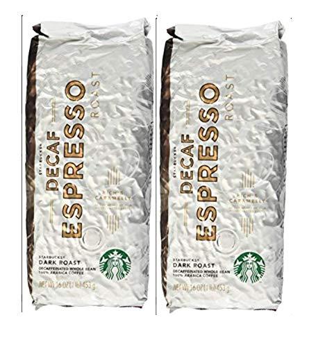 Starbucks Decaf Espresso Roast Whole Bean 2lbs