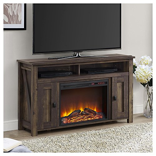 Ameriwood Home Farmington Electric Fireplace TV Console for TVs up to 50