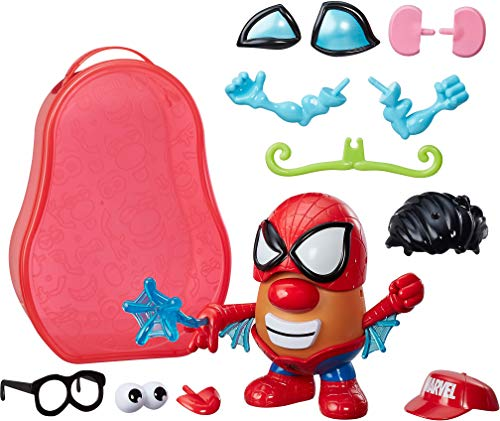Playskool Pré Escolar Mr Potato Head Spiderman Container