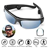 AcTek Bone-conduction Headphone Wireless Bluetooth Smart Sunglasses Open-ear Music Hands-free Headset Stereo Earphones