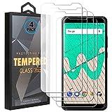 Ycloud 4 Pack Vidrio Templado Protector para Wiko View MAX, [9H Dureza, Anti-Scratch] Transparente Screen Protector Cristal Templado para Wiko View MAX