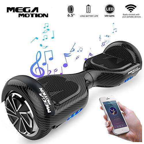 Mega Motion Self Balance Scooter E1 - Gyropode électrique 6.5' -Bluetooth - sécurisé UL...