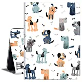 iPad 10.9 Case for iPad Air 4th Generation 2020, Cutebricase iPad Air 4 Case Cute Dog Multi-Angle Viewing Case Soft PU Leather Back Cover with Auto Wake/Sleep Function (Gentle Dog)