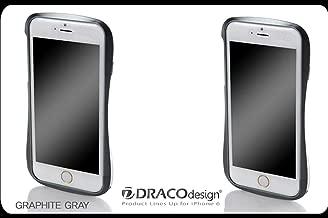 DRACO Genuine 6 Aluminum Bumper Case Made Aircraft Grade Aluminum for iPhone6/6S (Gray)