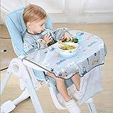Yuanshenortey - Babero para bebé, accesorio para silla de comedor, vestido, delantal