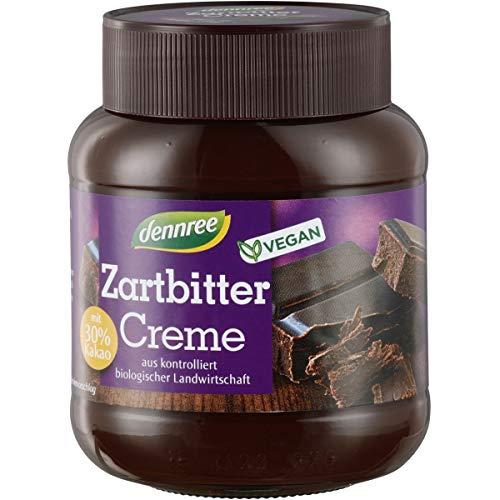dennree Zartbitter-Creme (400 g) - Bio