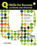 Q Skills for Success Listening & Speaking 3 Student's Book Pack
