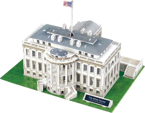 3D three-dimensional puzzle White House (U.S.) (japan import)