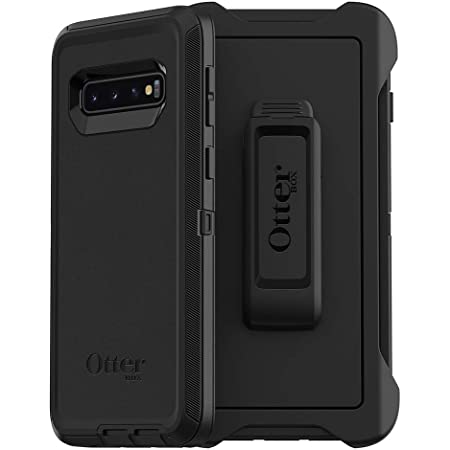 CASE ONLY Does Not Include Belt Clip Holster Non Retail Packaging - Black OtterBox Defender Series SCREENLESS Edition Case for Galaxy S10+