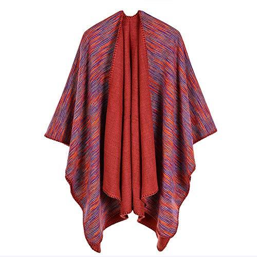 Ztweijin Luxe Merk Sjaals Vrouwen Dikke Warm Sjaal Ponchos Voor Dames Voor Jurk
