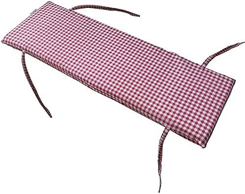 GDLQ Long Bench Cushion with Fixing W Daily bargain New popularity sale Removable Thick cm Ties 4