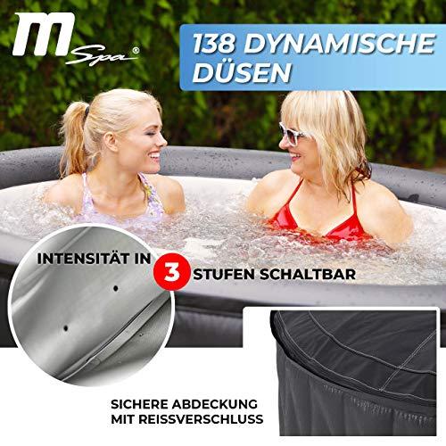 Miweba MSpa Premium Mont Blanc P-MB06 aufblasbarer Whirlpool - Bild 2