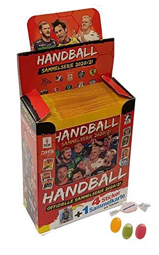 Blue Ocean Victus Handball Sticker 2020/2021 - 1 x Display / je 36 Stickertüten 20/21 zusätzlich 1 x Sticker-und-co Fruchtmix Bonbon
