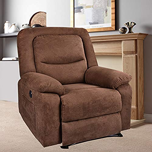 BINGTOO Power Recliner Chair with Heat and Massage, Electric Recliner Sofa...