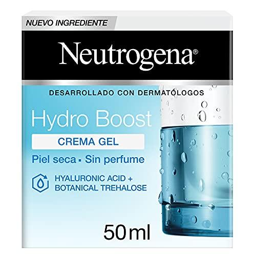 La mejor crema facial cruelty free calidad-precio: Neutrogena Hydro Boost Water Gel