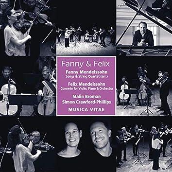 Fanny & Felix Mendelssohn: Chamber Works for Strings