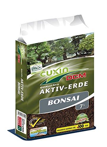 CUXIN DCM AKTIV-ERDE Bonsai 7 l - Lava und Sand für eine gute Drainage und gesunde Wurzeln