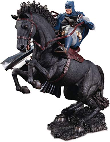 DC Collectibles The Dark Knight Returns: A Call to Arms Mini Battle Statue  Multicolor  8 inches