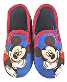 Zapatillas Pantuflas Infantiles Estar por casa Mickey Disney Color Azul Talla 23 EU