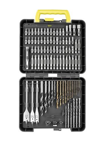 Ryobi RAK95DDF - Set 95 piezas para taldrar y atornillar
