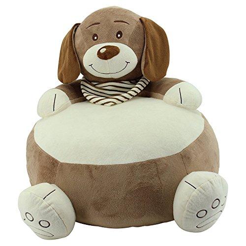 Sweety Toys 10301 Set=2 Stück Sitzkissen Baby Kinder Sitzsack Hocker Stuhl Hund